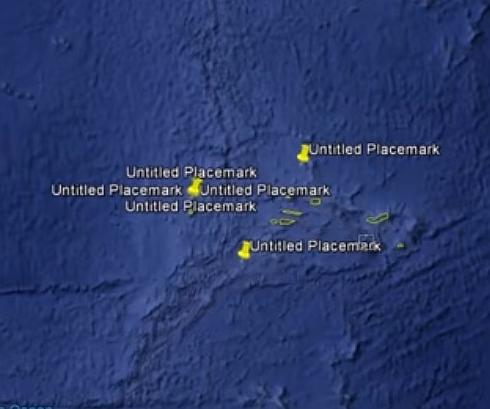 グーグルアースでアトランティスらしき陸塊を発見