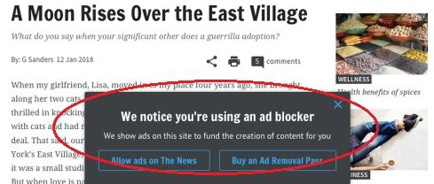Chromeは2018年5月から有料広告ブロックを開始