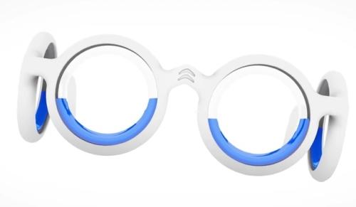 車酔いを95%防げるメガネ