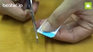 消しゴムが折れにくくする方法