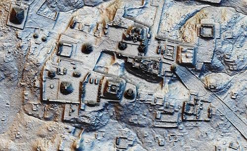 上空からのLIDAR解析で古代マヤ遺跡が発見