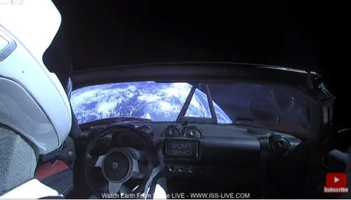 Starman車内映像