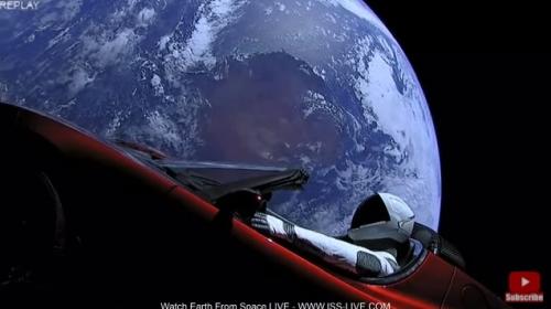 Starman車外映像