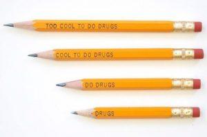 反薬物キャンペーン鉛筆が回収となった理由