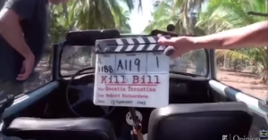 ユマ・サーマンの自動車事故映像