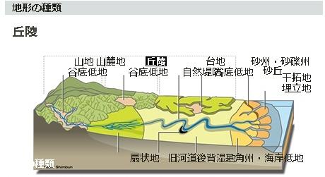 住所入力で揺れやすい地盤を判定 地形